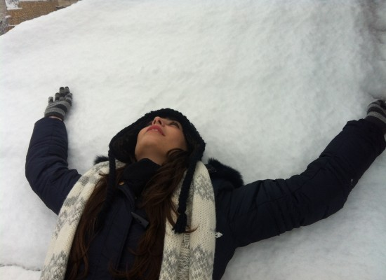 פתיתים פיוטיים של שלג