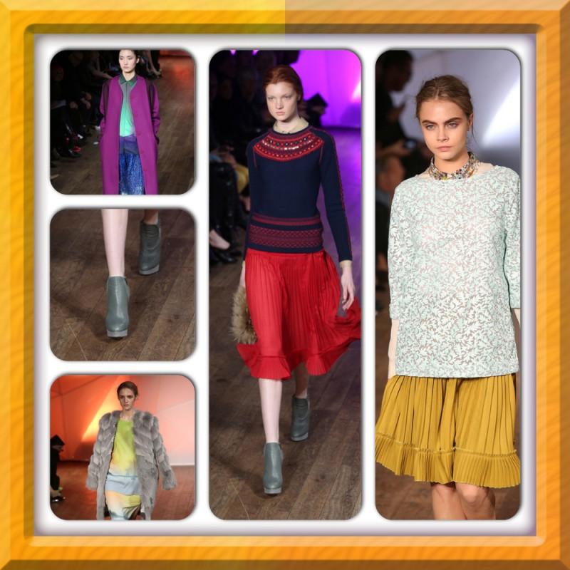 שבוע האופנה בלונדון, פברואר 2013