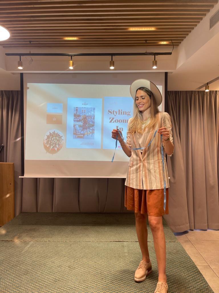 סדנת סטיילינג לנשים באירועים חברתיים